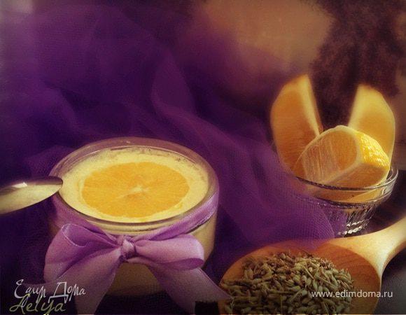 """Лавандово-лимонноe мягкое итальянское мороженое """"Джелато"""" (Gelato)"""
