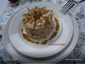 Салат из капусты по-французски