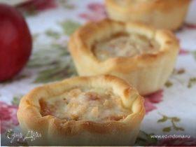 Мини-пирожки с яблоками