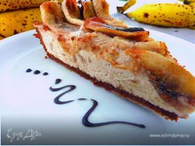 Банановый мороженый пай