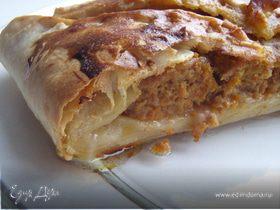 Шумуш - греческий слоеный пирог