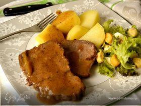 Томленая говядина по-ломбардийски (STRACOTTO ALLA LOMBARDA)