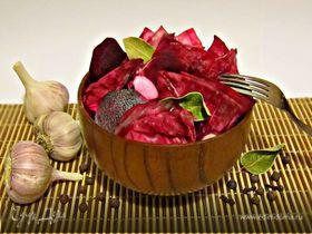 Маринованная красная капуста