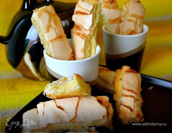 Печенье «Алюмет» или слойка по-французски (ALLUMETTES)