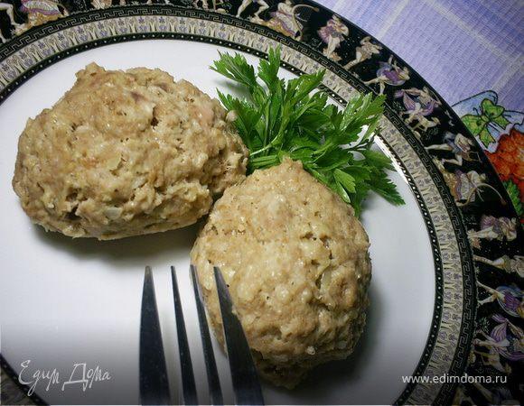 Мясо-крупяные котлеты для заморозки