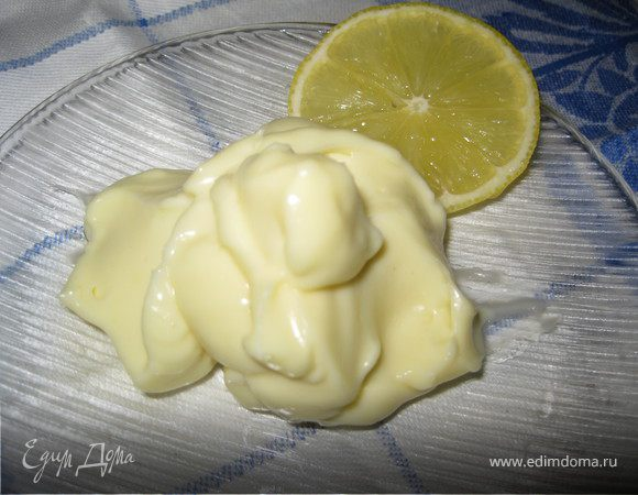 Вкусный и полезный домашний майонез с лимоном