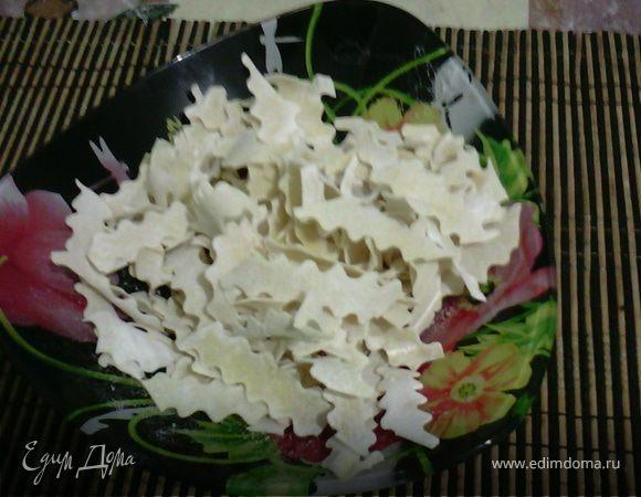 Рецепт домашней лапши