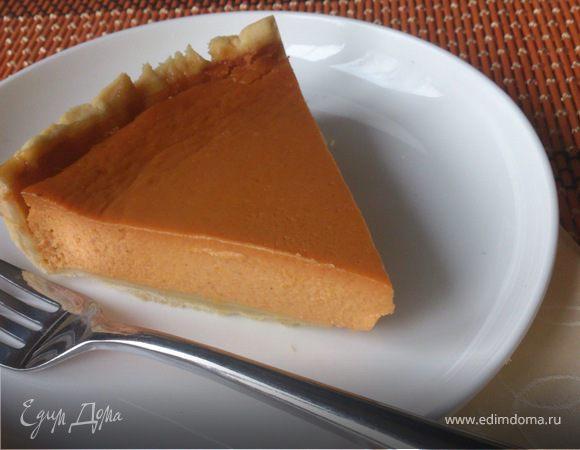 Тыквенно-карамельный пирог