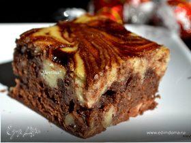 Брауни со вкусом Амаретто и рикотты
