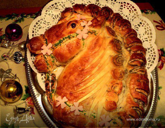 Пирог «Лошадка»