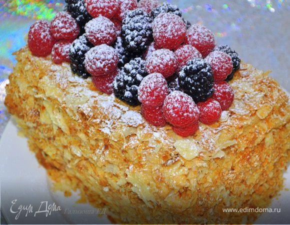 Торт наполеон рецепт от высоцкой