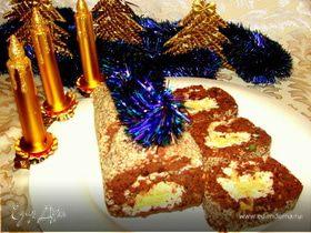 Рулет из фасоли (праздничная подача лобио)