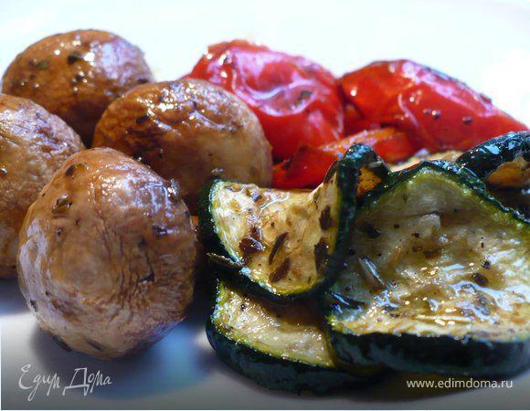 овощи гриль в духовке без гриля