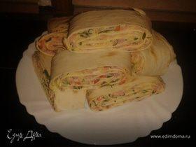закуски из лаваша