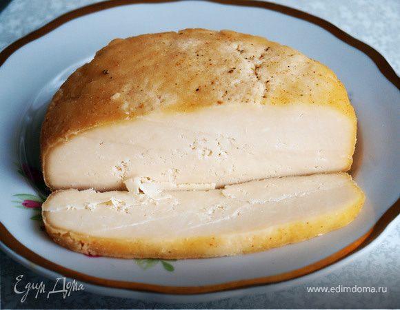 Сыр твердый домашнего приготовления