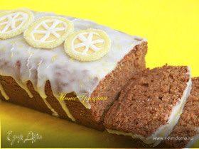 Имбирный кекс с лимонной помадкой