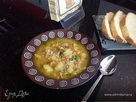 Густой рождественский суп