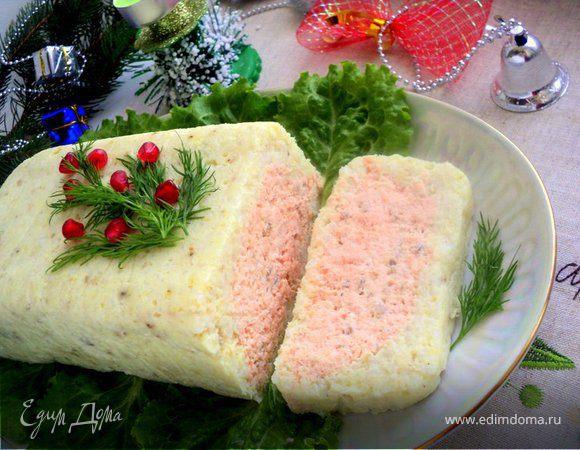 Террин из красной и белой рыбы
