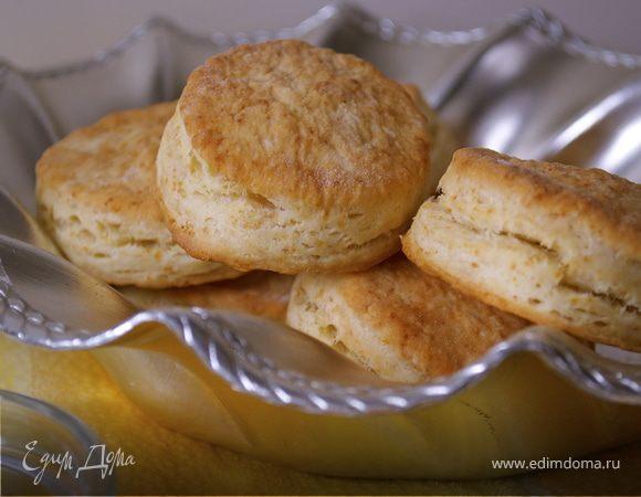 """Слоистые булочки """"универсальные"""" (flaky buttermilk biscuits)"""
