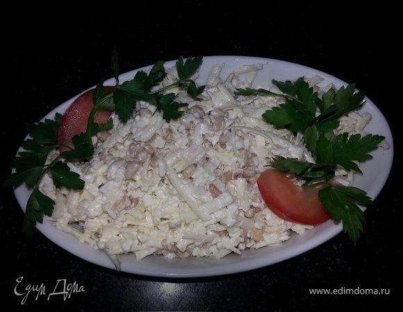 Салат с цветной капустой