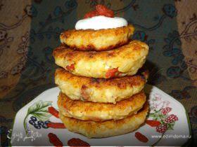 Сырники по-восточному с ягодами годжи и корицей