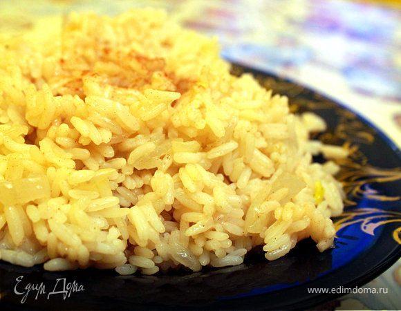 Ароматный рис с корицей