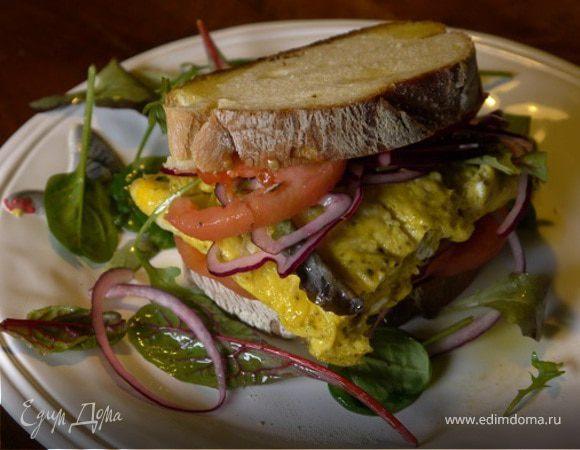 Сэндвич с омлетом