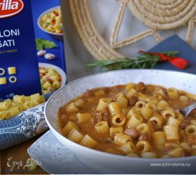 Паста с фасолью (Pasta e fagioli)