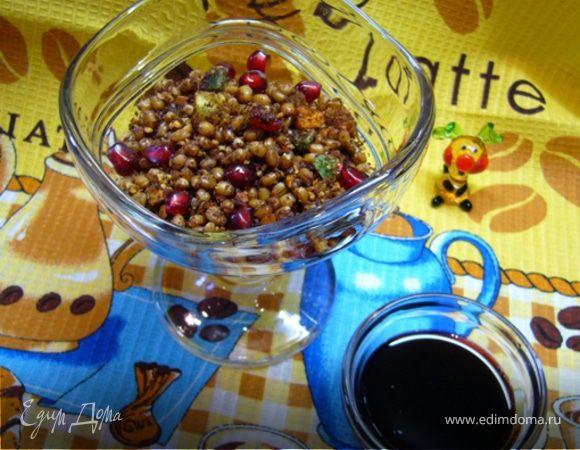 Зерна пшеницы в сиропе