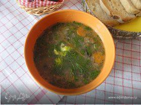 Грибной суп с фенхелем