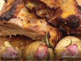 Свиные ребрышки в цитрусовой глазури