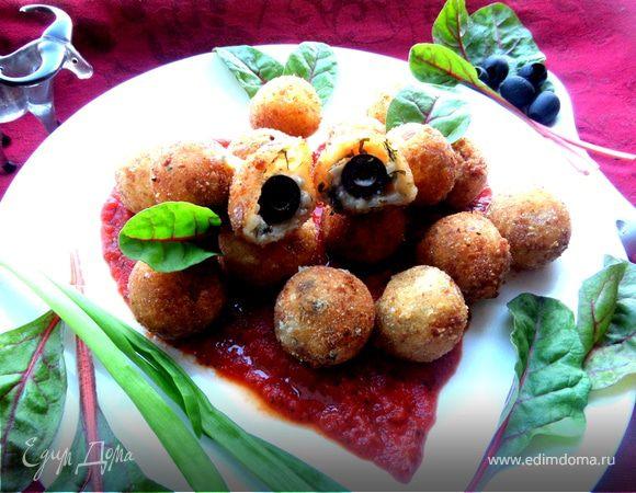 Закуска сырные шарики рецепт пошагово 13