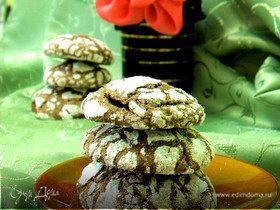 """Печенье """"Шоколадные трещинки"""""""