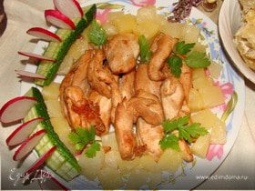 Филе курицы по-французски