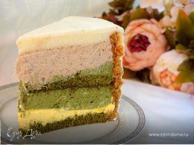 "Торт ""Банан с зеленым чаем"""