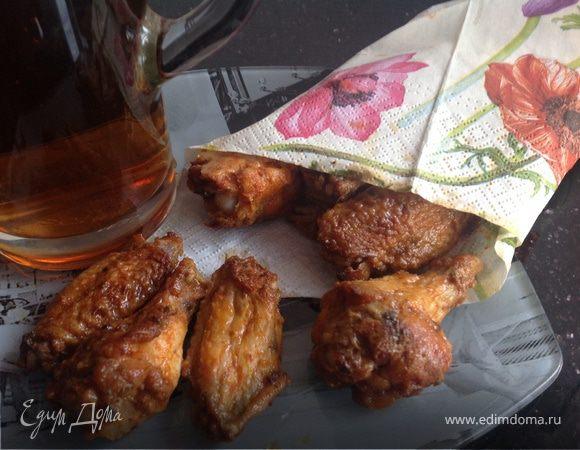 Куриные крылышки к пиву