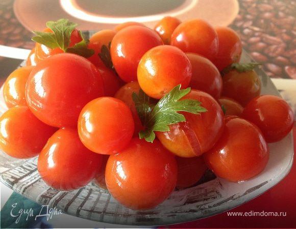 """""""Быстрые"""" малосольные помидоры"""