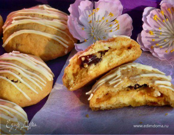 Печенье с вишней