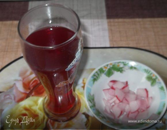 Гарнир из редиски и редисочный чай