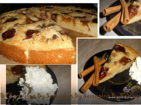 Эстонский сливовый пирог