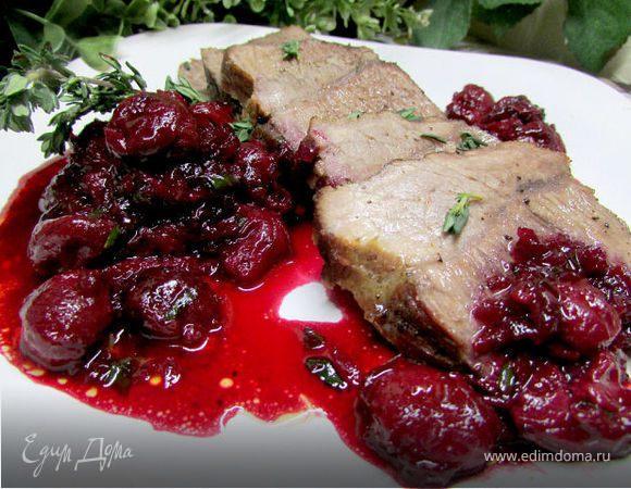 Вишнёвый соус – кулинарный рецепт