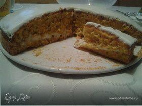 Морковно-ореховый торт