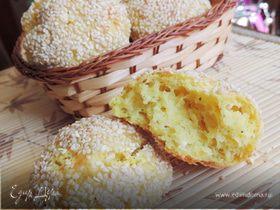 Творожно-сырные булочки (без дрожжей)