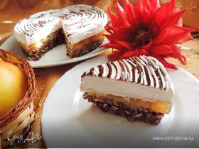 Грушевый торт без выпечки