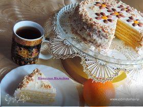 """Тыквенно-апельсиновый торт """"Восторг"""""""