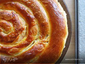 """Пирог """"Спираль"""" с мясной начинкой"""