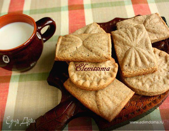 Пряное голландское печенье (Speculaas)