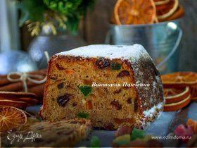 Пряный рождественский кекс