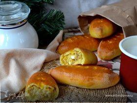 Пирожки духовые с тунцом