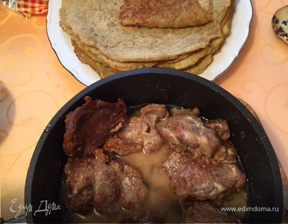 Драник из картофеля со свининой
